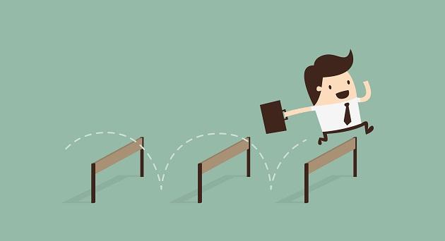 avaliação de desempenho obstáculos